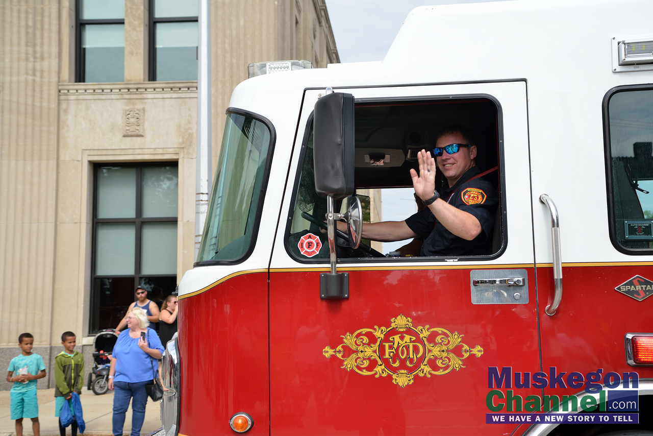 Muskegon Labor Day Parade 2019