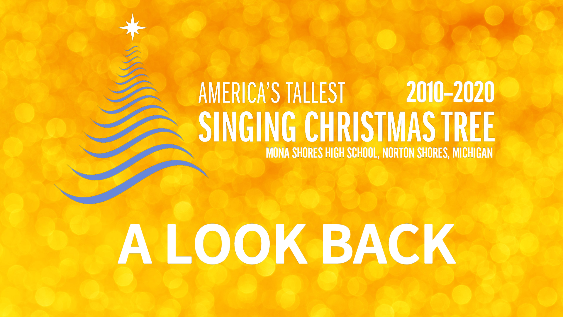 Singing Christmas Tree Muskegon 2021 Mona Shores World S Tallest Singing Christmas Tree 2020 A Look Back Muskegonchannel Com